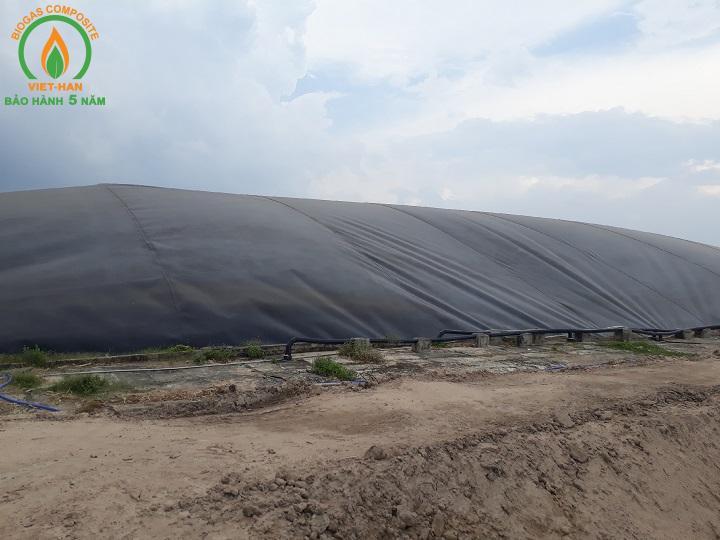 bể biogas hdpe