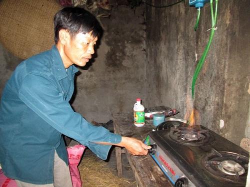 ứng dụng khí biogas