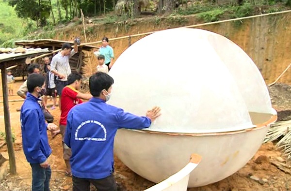 Cách lắp đặt hầm biogas composite hiệu quả